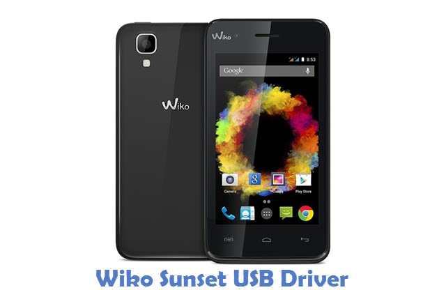 Wiko Sunset USB Driver