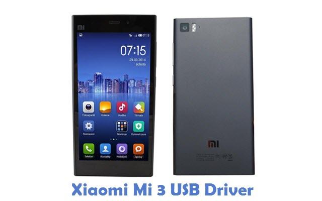Xiaomi Mi 3 USB Driver