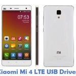 Xiaomi Mi 4 LTE USB Driver