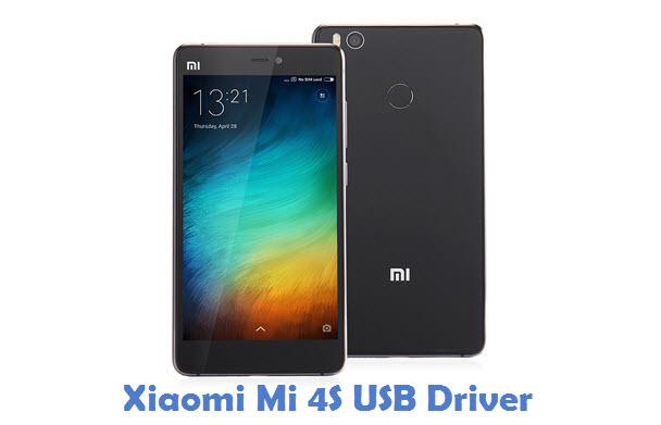 Xiaomi Mi 4S USB Driver