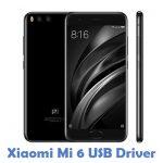 Xiaomi Mi 6 USB Driver
