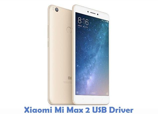 Xiaomi Mi Max 2 USB Driver