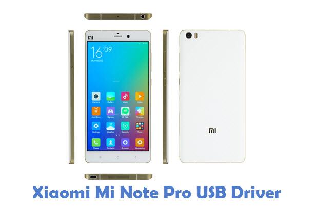 Xiaomi Mi Note Pro USB Driver