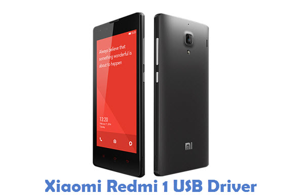 Xiaomi Redmi 1 USB Driver