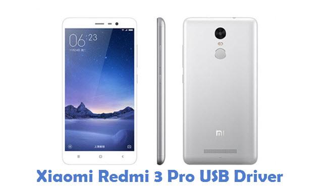 Xiaomi Redmi 3 Pro USB Driver