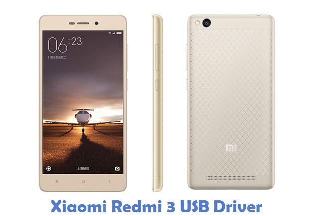 Xiaomi Redmi 3 USB Driver