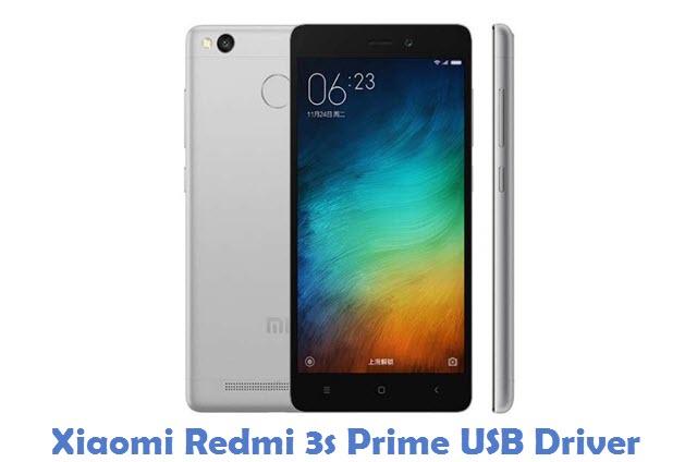 Xiaomi Redmi 3s Prime USB Driver