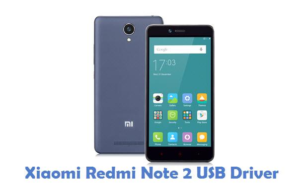 Xiaomi Redmi Note 2 USB Driver