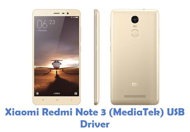 Xiaomi Redmi Note 3 (MediaTek) USB Driver