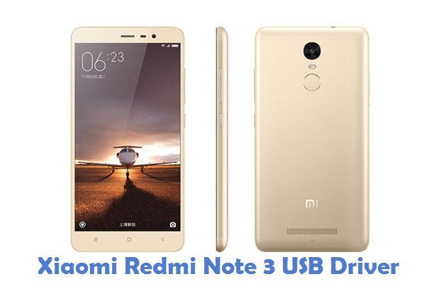 Xiaomi Redmi Note 3 USB Driver