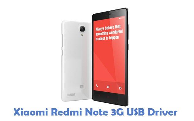 Xiaomi Redmi Note 3G USB Driver
