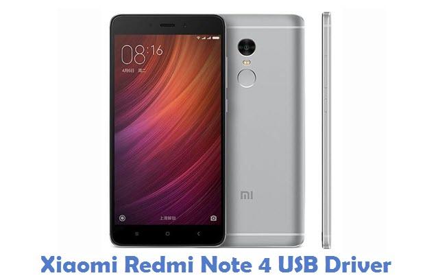 Xiaomi Redmi Note 4 USB Driver
