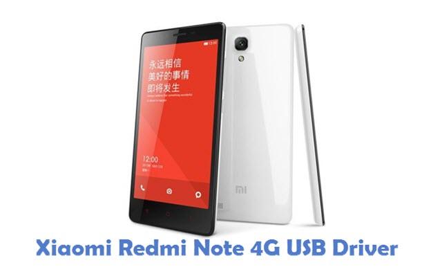 Xiaomi Redmi Note 4G USB Driver