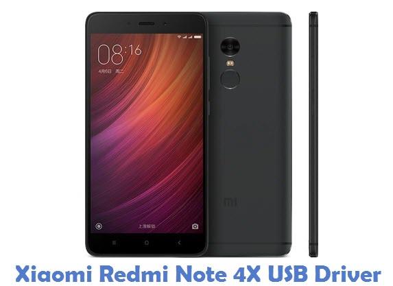 Xiaomi Redmi Note 4X USB Driver