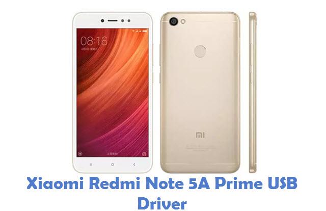 Xiaomi Redmi Note 5A Prime USB Driver