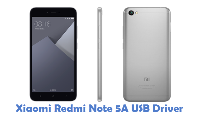 Download And Install Adb Mtp Drivers For Xiaomi Redmi Note: Download Xiaomi Redmi Note 5A USB Driver