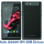 Xolo A500S IPS USB Driver