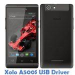 Xolo A500S USB Driver