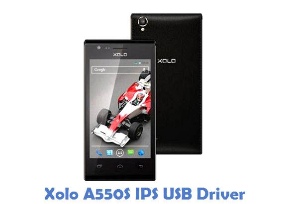 Xolo A550S IPS USB Driver