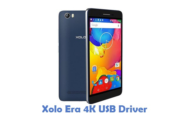 Xolo Era 4K USB Driver