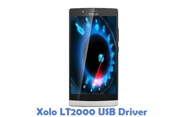 Xolo LT2000 USB Driver