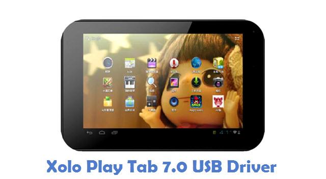 Xolo Play Tab 7.0 USB Driver