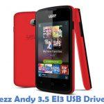 Yezz Andy 3.5 EI3 USB Driver