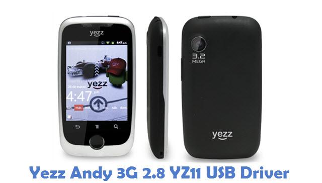 Yezz Andy 3G 2.8 YZ11 USB Driver