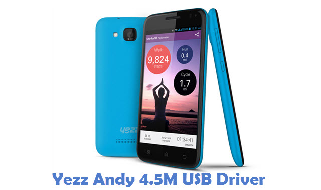 Yezz Andy 4.5M USB Driver