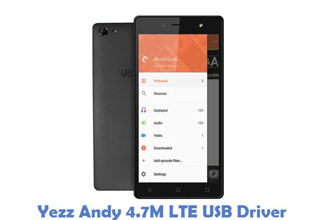 Yezz Andy 4.7M LTE USB Driver
