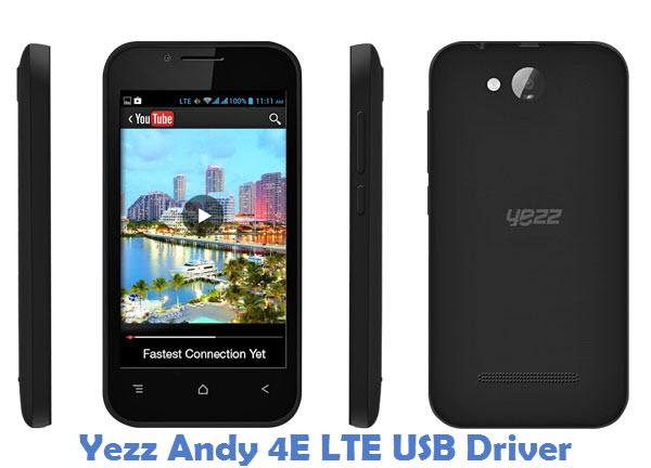 Yezz Andy 4E LTE USB Driver