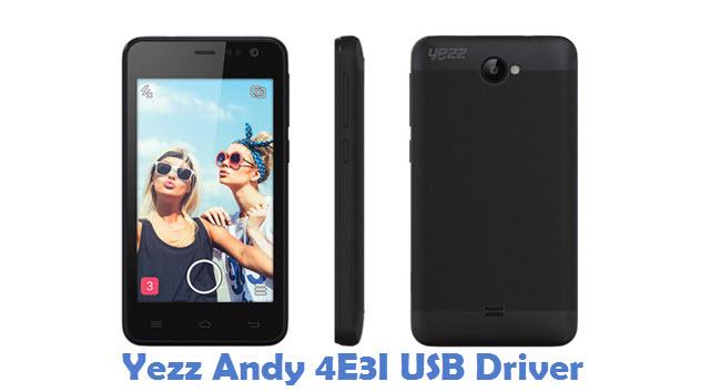 Yezz Andy 4E3I USB Driver