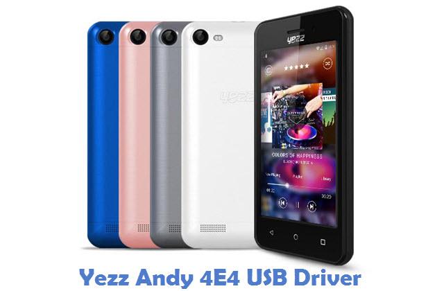 Yezz Andy 4E4 USB Driver