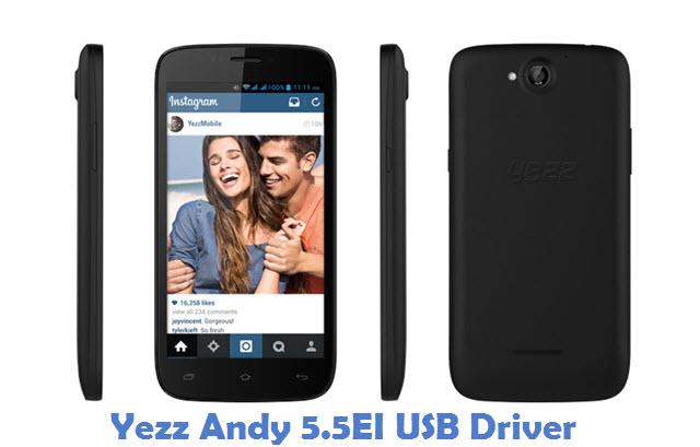 Yezz Andy 5.5EI USB Driver