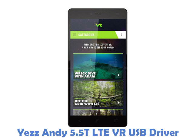 Yezz Andy 5.5T LTE VR USB Driver