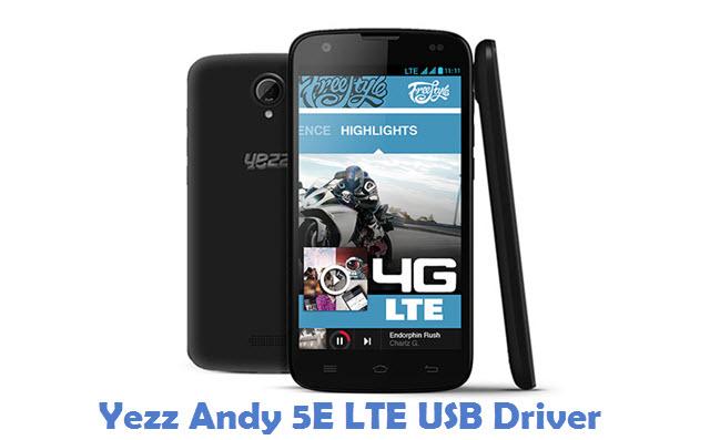 Yezz Andy 5E LTE USB Driver