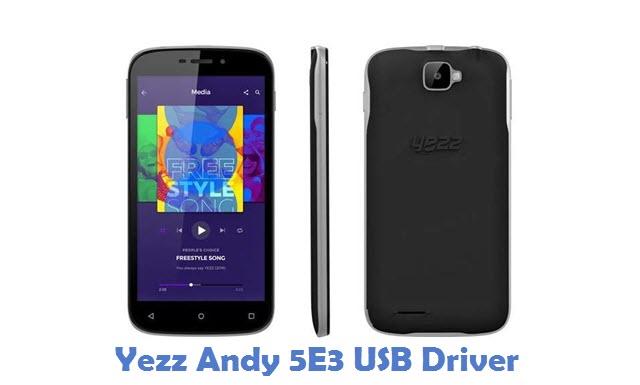 Yezz Andy 5E3 USB Driver