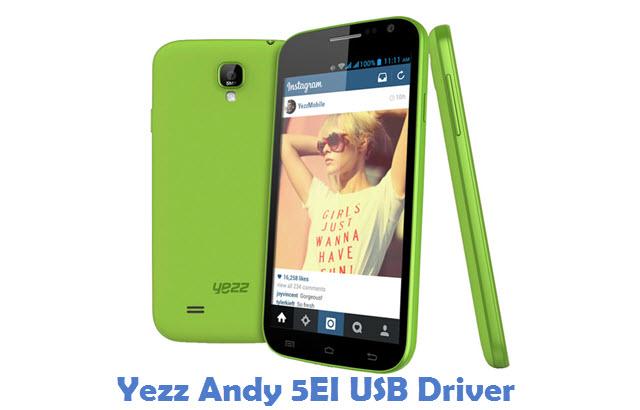 Yezz Andy 5EI USB Driver