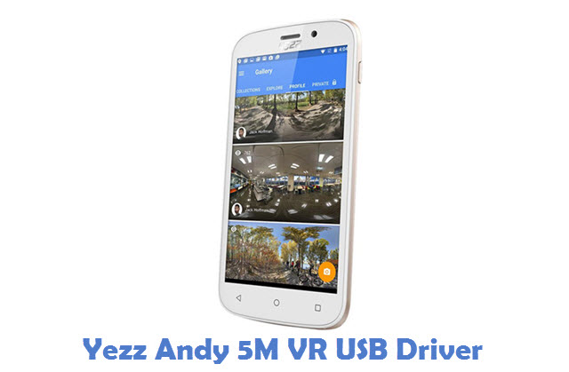 Yezz Andy 5M VR USB Driver