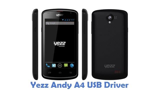 Yezz Andy A4 USB Driver