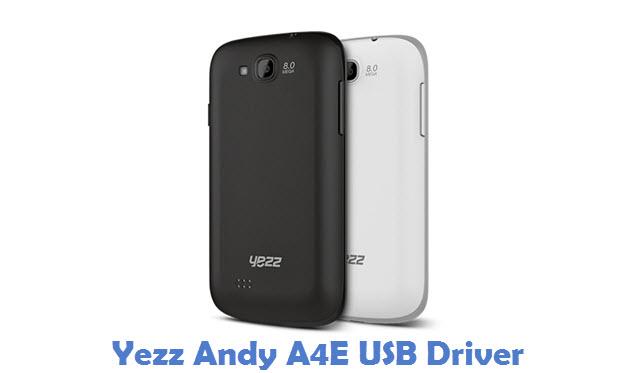 Yezz Andy A4E USB Driver