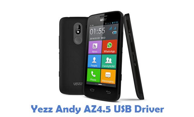 Yezz Andy AZ4.5 USB Driver