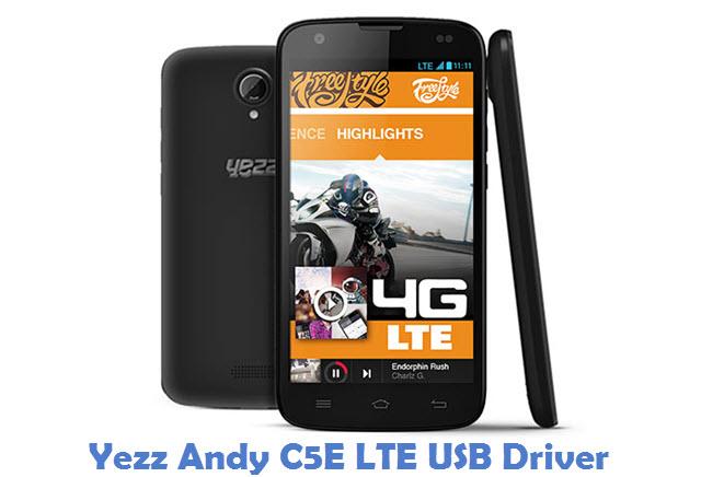 Yezz Andy C5E LTE USB Driver