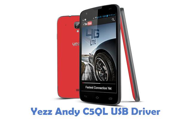 Yezz Andy C5QL USB Driver