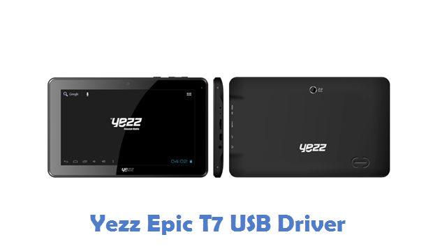 Yezz Epic T7 USB Driver