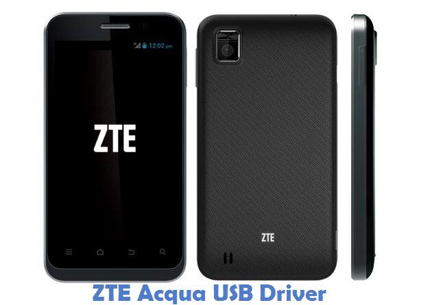 ZTE Acqua USB Driver