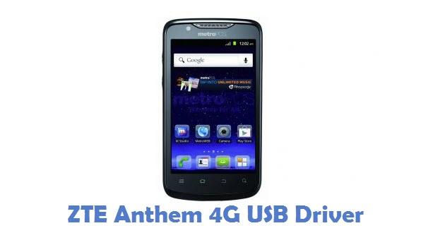 ZTE Anthem 4G USB Driver