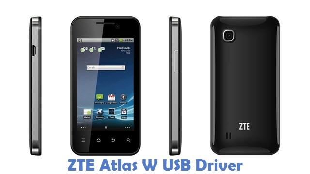 ZTE Atlas W USB Driver