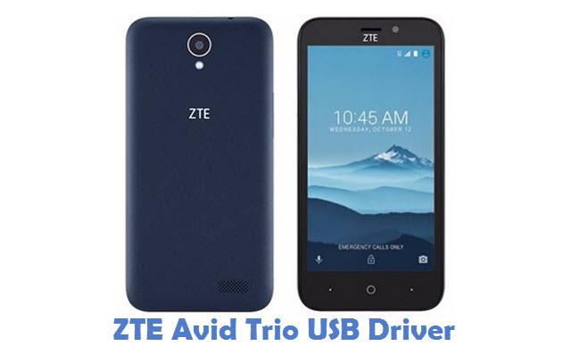 ZTE Avid Trio USB Driver