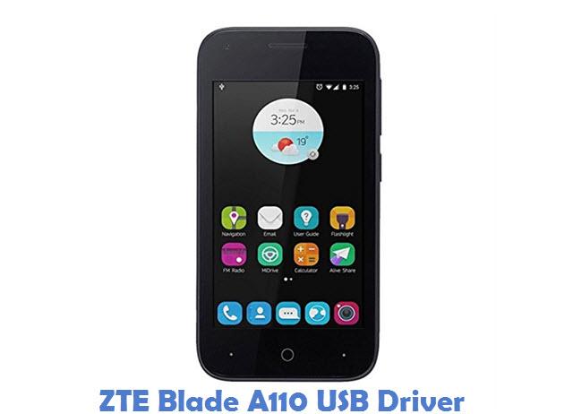 ZTE Blade A110 USB Driver